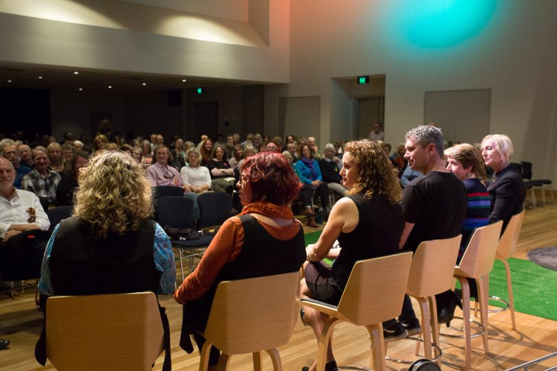 A stellar line up of speakers attracted around 350 people to thr 2018 Festival of Open Minds. Photo: Chris Sheedy.
